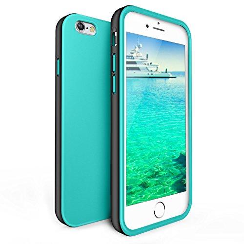 iPhone 6s Case,LoHi Slim Dual Layer TPU Liquid Silicone Protective Bumper Case for iPhone 6/6S