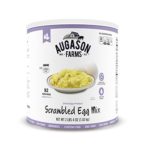 Augason Farms Scrambled Egg Mix 2 lbs 4 oz No. 10 Can by Augason Farms