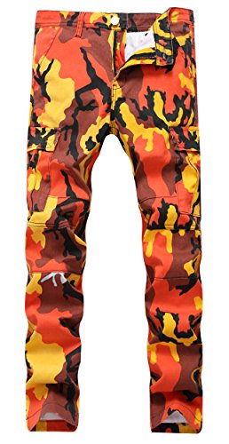 Army Universe Orange Camo Cargo BDU Pants Hunters Camouflage Tactical  Military Fatigues with Pin 8865+PIN 12eb3c4e39b