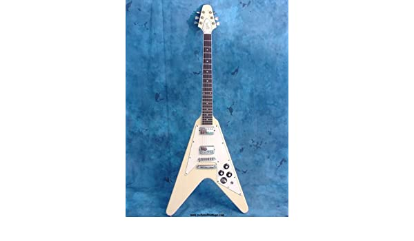 Amazon.com: Gibson Flying V - Electric Guitar PLANS - Builders Plans Guitarra planes blueprints: Musical Instruments