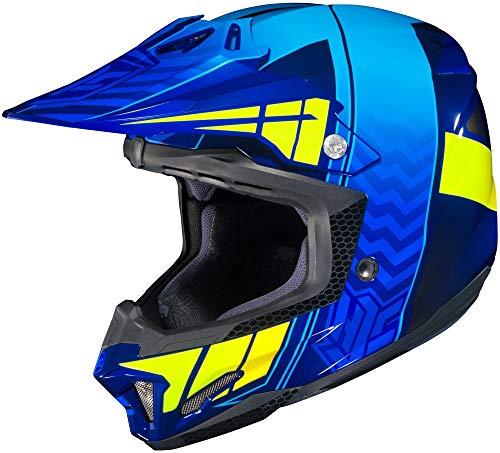 HJC Cl-x7 Cross Up Mc-2h Size:MED Motorcycle Off-road-helmet