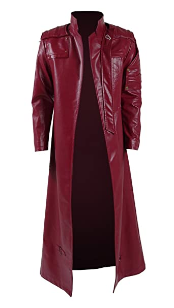 a5caed0dc8f05 QianQian - Chaqueta - Gabardina - para hombre rojo rosso  Amazon.es  Ropa y  accesorios