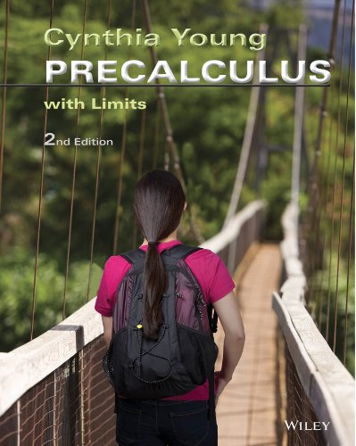 Precalculus with Limits 2e + WileyPLUS Registration Card