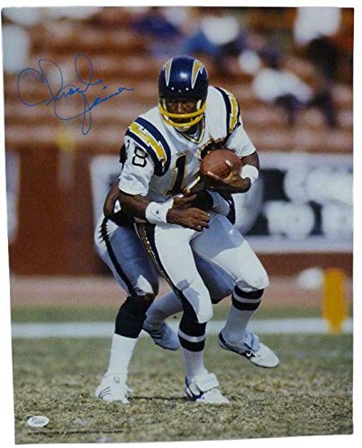 Joiner Autographed San Diego Chargers - CHARLIE JOINER AUTOGRAPHED SAN DIEGO CHARGERS 16X20 PHOTO JSA