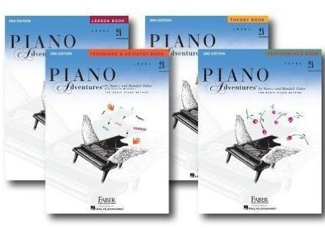 Faber Piano Adventures Level 2A Learning Library Set Incl...