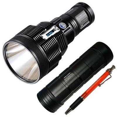 Bundle: Nitecore TM36 Lite LED Flashlight - 1800 Lumens w/NBP52 Battery Pack