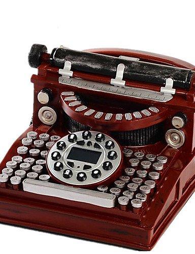 ES- moda novedad cid máquina de escribir con cable teléfono antiguo