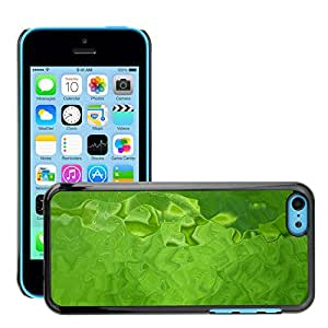 Super Stellar Slim PC Hard Case Cover Skin Armor Shell Protection // M00051491 green aero colorful water // Apple iPhone 5C