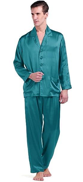Lilysilk Conjunto De Pijamas Largas De 100% Seda Natural De 22 Momme De Grado 6A
