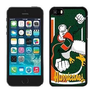 Iphone 5c Case Ncaa ACC Atlantic Coast Conference Miami (Fl) Hurricanes 4 Apple Iphone Case