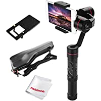 Zhiyun Smooth 3 3-Axis Handheld Gimbal for Smartphone(Max.6) GoPro Hero 3 4 5 260g Payload 14hrs Runtime Real-Time Control Exposure Compensation ISO White Balance Shutter Speed Focusing