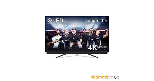 TCL 55C815 - Televisor Smart TV 4 K UHD (55 pulgadas, HDR 10, Micro Dimming Pro, Android TV, Alexa, Google Assistant): Amazon.es: Electrónica
