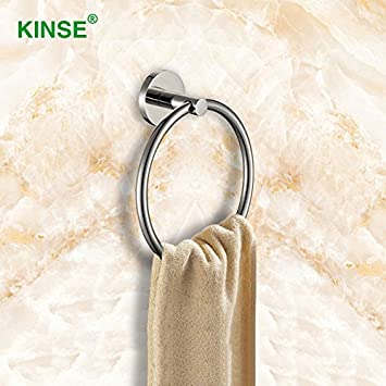 KINSE Qualität 304 Edelstahl Badezimmer Zubehör Handtuch Ringe ...