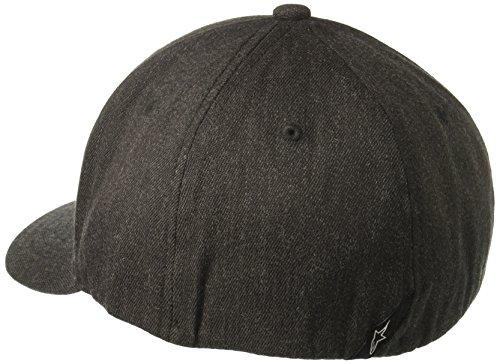 Hombre gray Flexfit Alpinestars Blaze de Béisbol Hat heather dk Gorra gris para black P4Cqxw