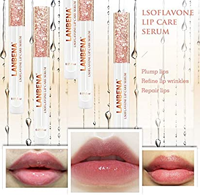 LANBENA Lips Care Serum,Moisturizing and Plumping Lips Creating Sexy Doodle Lips, Reduce Fine Lines,Beauty Lipstick