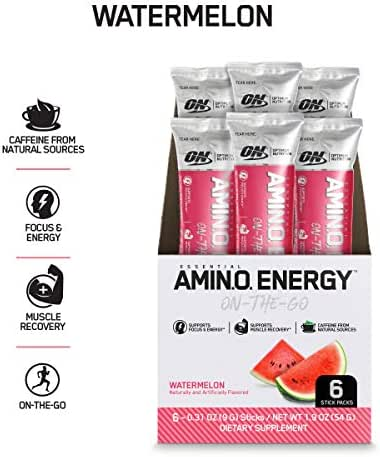 Energy & Endurance: Optimum Nutrition Amino Energy On-The-Go