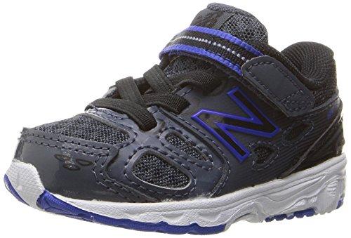 New Balance Unisex-Baby 420 RE-Engineered Shoes, Grey/UV Blue/Black, 5 Medium US Infant