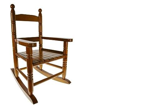 Sedie A Dondolo In Legno Per Bambini : Cal fuster sedia a dondolo per bambini legno colore miele