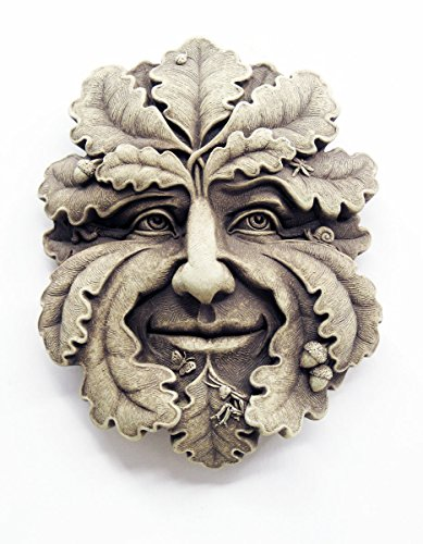 Green Man Wall Plaque by Carruth