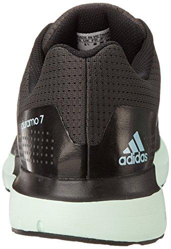 Adidas Prestaties Vrouwen Duramo 7 W Vrouwen Loopschoen Grijs / Blauw / Groen