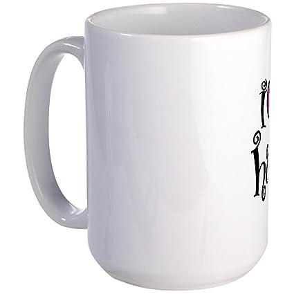 eb52e837073e Amazon.com  CafePress - I Love My Hubby Large Mug - Coffee Mug ...
