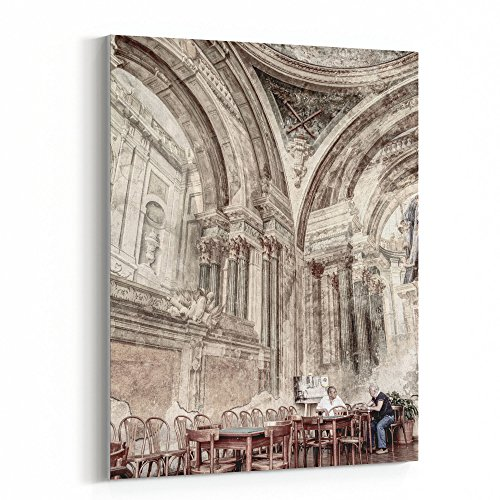 Westlake Art   Renaissance Architecture   30X40 Canvas Print Wall Art   Canvas Stretched Gallery Wrap Modern Picture Photography Artwork   Ready To Hang 30X40 Inch