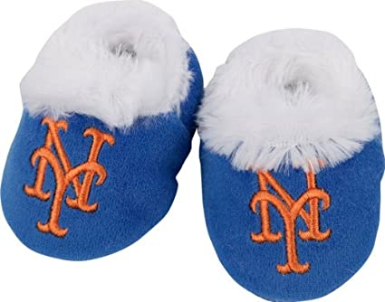 on sale a94af 302f5 New York Mets Baby Bootie Slipper