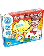 Science 4 You SY612853.0035 Explosive Science Educational STEM Experiment Kits for Kids Aged 8+, Multi