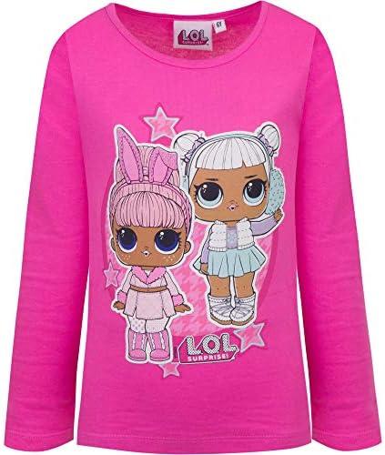 Surprise L.O.L Vestido Infantil Ni/ña Rosa Sin Mangas Vestido De Ni/ña Verano Ropa para Ni/ñas De Confetti Pop Vestidos De Ni/ña Verano 2019 con 100/% Algod/ón Regalo para Ni/ña