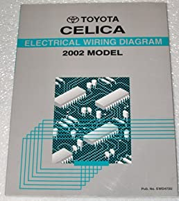 2002 toyota celica electrical wiring diagrams zzt230 231 series rh amazon com  2002 toyota celica gt stereo wiring diagram