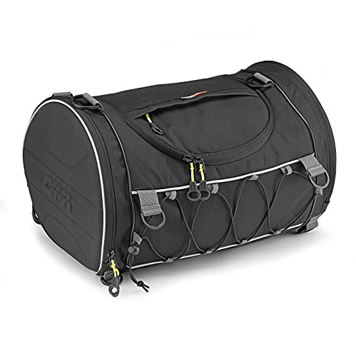Motorcycle Roll Bag MZ 1000ST Givi EA107B 35 liters black (1000st Kit)