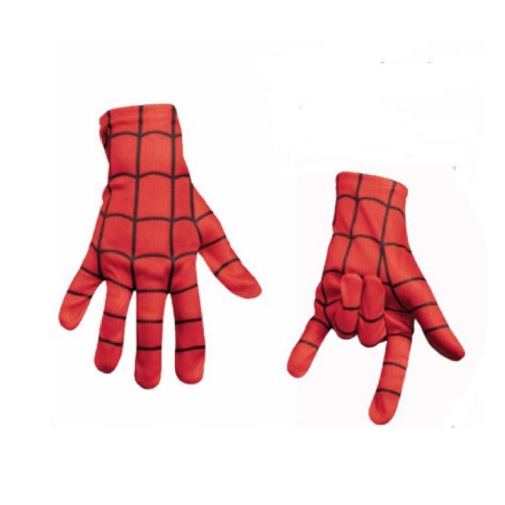 YAX Mascara Spiderman Mask/Spider-Man Gloves Niños Y Adultos ...
