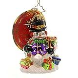 Christopher Radko Snow Drift Gifts Gem Glass Christmas Ornament by Christopher Radko