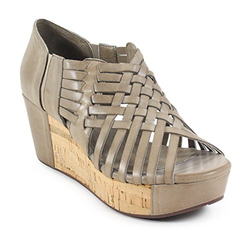 Chocolat Blu Web Wedge Dame Sandal Taupe E1bk6