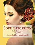 img - for Sophisticated Lady Portraits: An Adult Grayscale Coloring Book book / textbook / text book