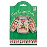 Ann Clark Ugly Sweater Cookie Cutter - 4.1 Inches - Tin Plated Steel