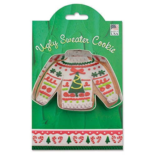 Ann Clark Cookie Cutters Ugly Sweater Cookie Cutter, 4.25