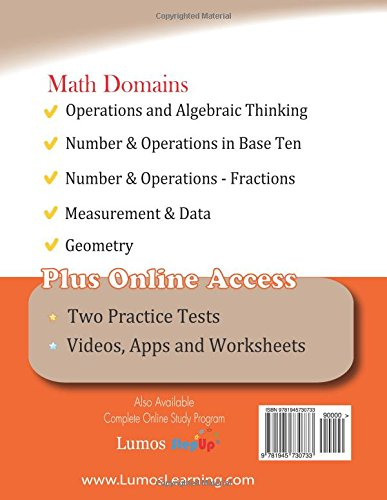 Workbook common core worksheets 4th grade math : Georgia Milestones Assessment System Test Prep: 4th Grade Math ...