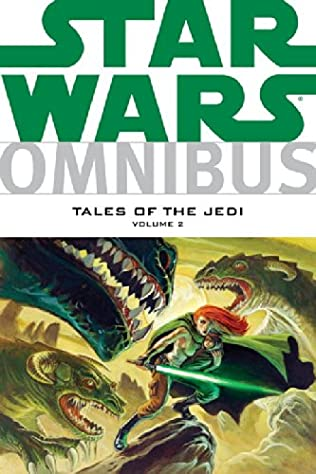 book cover of Star Wars Omnibus: Tales of the Jedi, Vol. 2