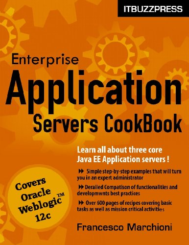 Download Enterprise Application Servers CookBook – Part 1: Oracle Weblogic Pdf