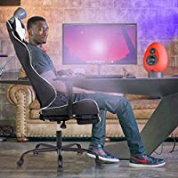 BestMassage Gaming Chair Ergonomic Swivel Chair High Back Racing Chair, With Footrest, Lumbar Support and Headrest from BestMassage