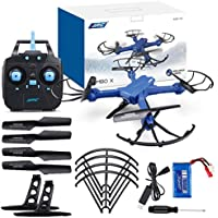 MOONHOUSE-JJRC H38 FPV RC Quadcopter ,2.4G 4CH 6 RC Drone Axes & 2MP Wide Angle WIFI Camera,Use Phone to See What you Shot In the Sky