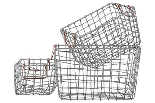 Nesting Wire Baskets - 7