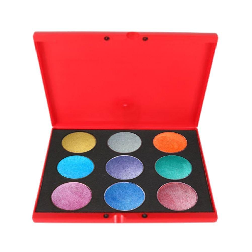 Kryvaline 9 Color Palette - Metallic (30 g)