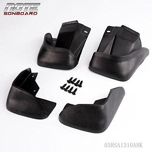 for 1998-2002 Honda Accord DX EX LX Sedan Splash Guards Mud Flaps Fender Mudguard Kit