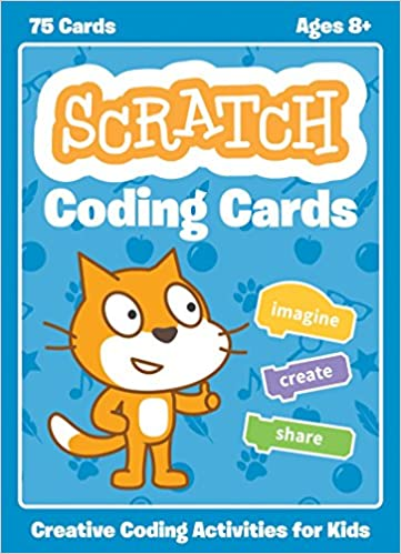amazon scratch coding cards creative coding activities for kids