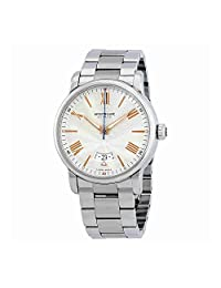 Montblanc Men's 4810 42mm Steel Bracelet & Case Automatic Silver-Tone Dial Analog Watch 114852