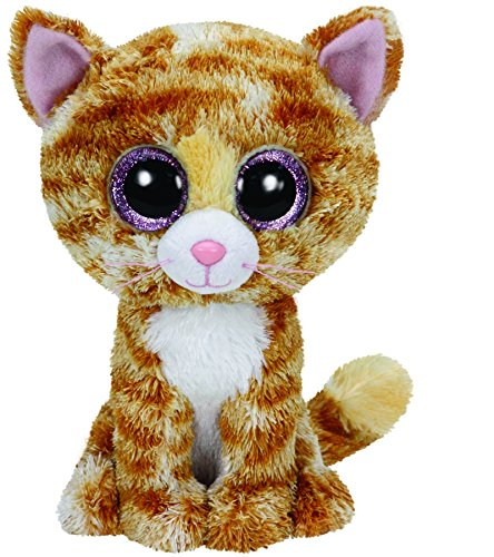 Ty - Peluche gato, 15 cm, color beige (United Labels 36129TY): Amazon.es: Juguetes y juegos