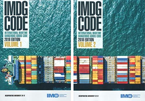 IMDG Code, 2018 Edition 39-18 (inc. Amdt 39-18) 2 Volumes Set ()