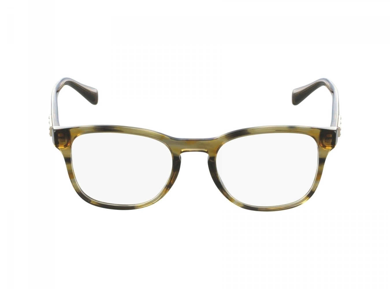 Dolce&Gabbana DG3260 Eyeglass Frames 3063-52 - Striped Brown DG3260-3063-52
